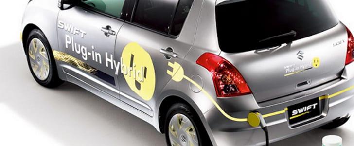 """Μπαταρίες ιόντων-λιθίου από τη Sanyo θα δώσουν ενέργεια στα Suzuki """"Swift Plug-in Hybrid"""" αυτοκίνητα…"""
