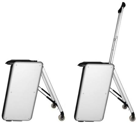 Μια έξυπνη βαλίτσα για τους φανατικούς ταξιδιώτες..!