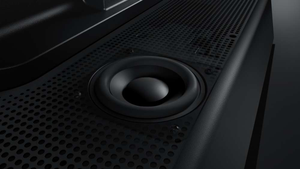 Μια designάτη βάση που δίνει ήχο με τον όγκο και την καθαρότητα που χρειάζονται οι… λιγνές LED!