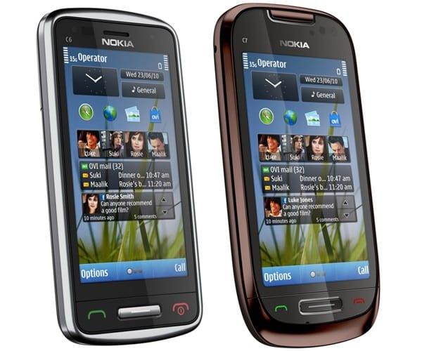 Nokia World 2010: C6 και C7 στη μεσαία κατηγορία με σχεδίαση 'ζαχαρωτό΄…