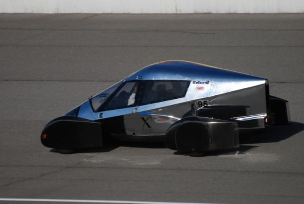 To βραβείο X για το πιο οικονομικό αυτοκίνητο: 160 χιλιόμετρα με 3.7 λίτρα…