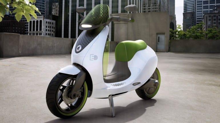 """Ένα """"έξυπνο"""" ηλεκτρικό scooter…"""