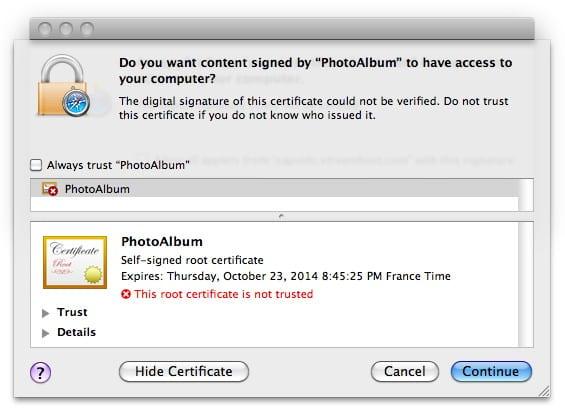 Ιός Trojan επιτίθεται στα Mac μέσα από Social Networking -βλ. Facebook, Linkedin κ.ο.κ-  sites…