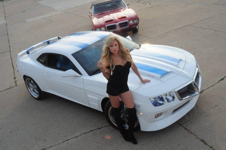 Μια κλασική Pontiac Trans-Am από τους… 'Transformers' στην παραγωγή…