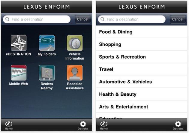 Έχεις Lexus; τώρα έχεις και app για το κινητό που σχεδιάζει το ταξίδι…