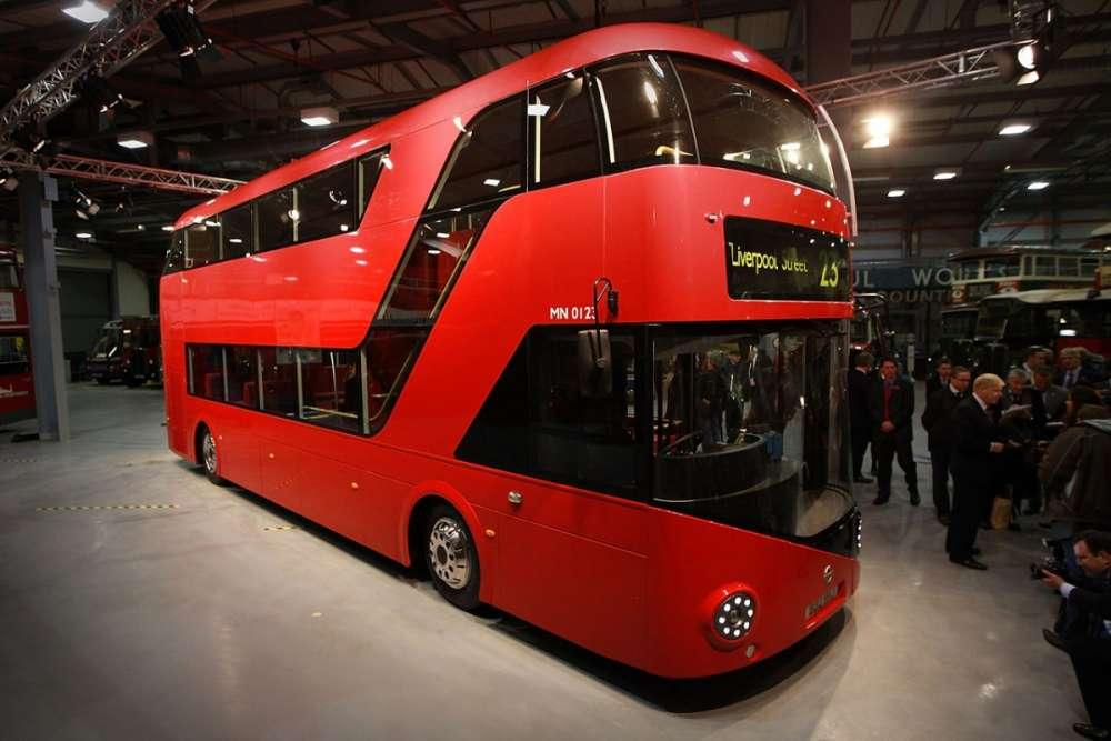 New Bus for London: ένα νέο λεωφορείο για το Λονδίνο!