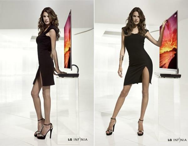 Η Alessandra Abrosio διαφημίζει τηλεοράσεις. Τι άλλο να θέλεις;