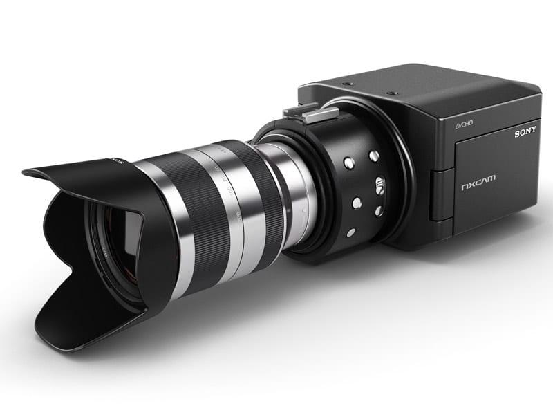 """Κάμερα με """"ισοδύναμο με Super 35mm CMOS HD"""" αισθητήρα; it's a Sony…"""