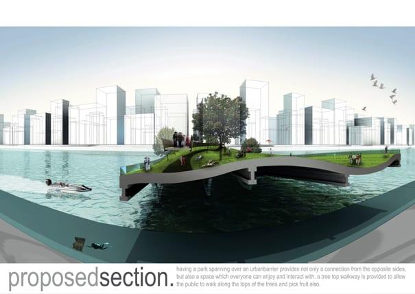 Μια πόλη όπου το 'εμπόδιο' γίνεται πάρκο…