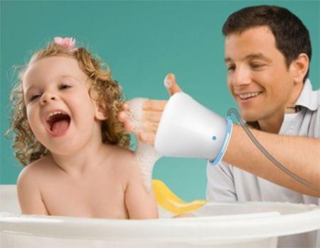 Για την ευαίσθητη επιδερμίδα: ένα gadget για το αγαπημένου μπάνιο του μωρού…