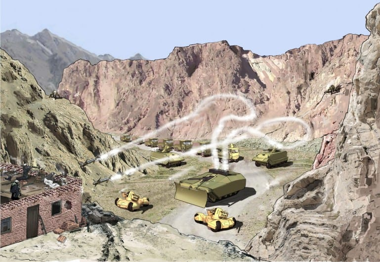 Future Protected Vehicle program: Μια στρατιά από 'αόρατα' στα ραντάρ οχήματα…