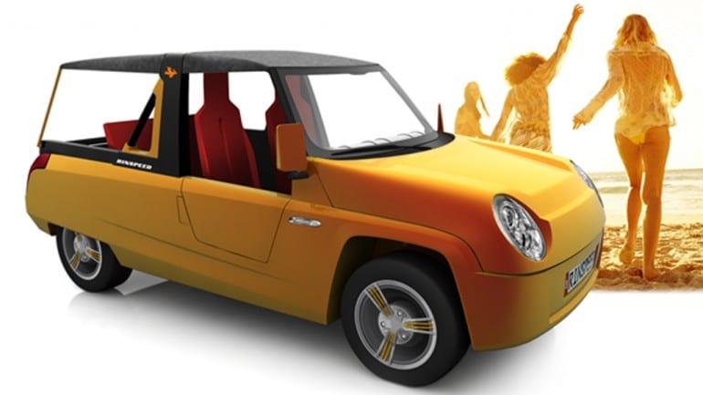 Rinspeed: ένα πρωτότυπο αυτοκίνητο που θα έπρεπε να λέει… made in Greece!