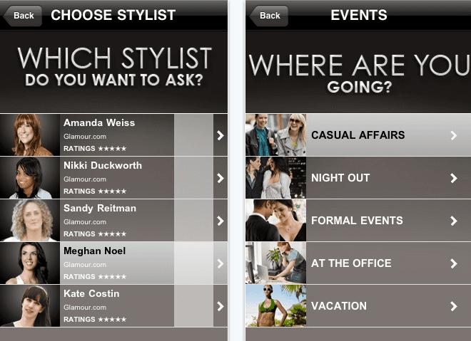 Glamour Ask A Stylist: μια iPhone app που θα τρελάνει τις γυναίκες!