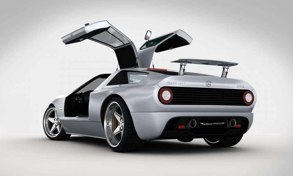 Concept cars: C11, μια Mercedes με φτερά γλάρου!