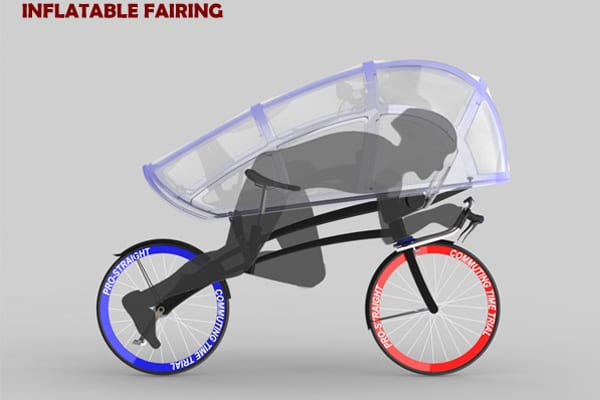 Μια ιδέα για ποδήλατο.. βρέξει, χιονίσει!