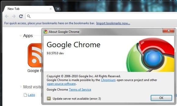 Google Chrome 9: λανσαρίστηκε…
