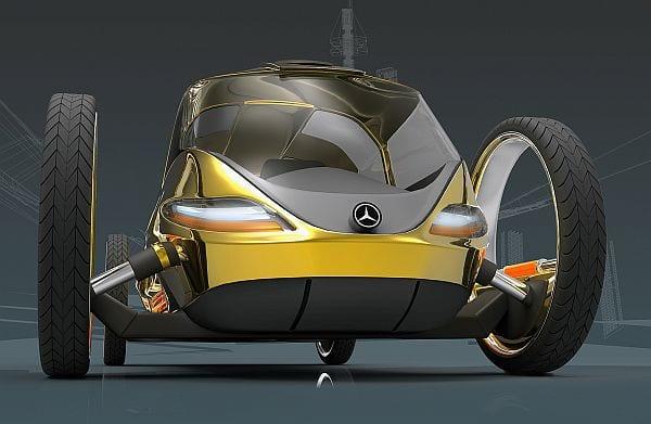 Mercedes Benz ELA: ένα concept car από το μέλλον…