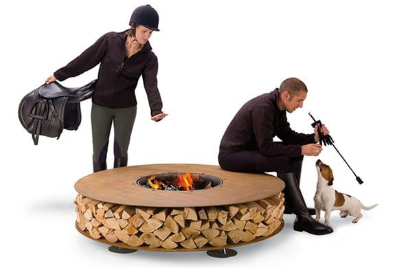 Zero Outdoor Fireplace: ένα τζάκι διαφορετικό…