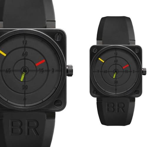 Radar BR 01: ρολόι χειρός με αισθητική… ραντάρ!