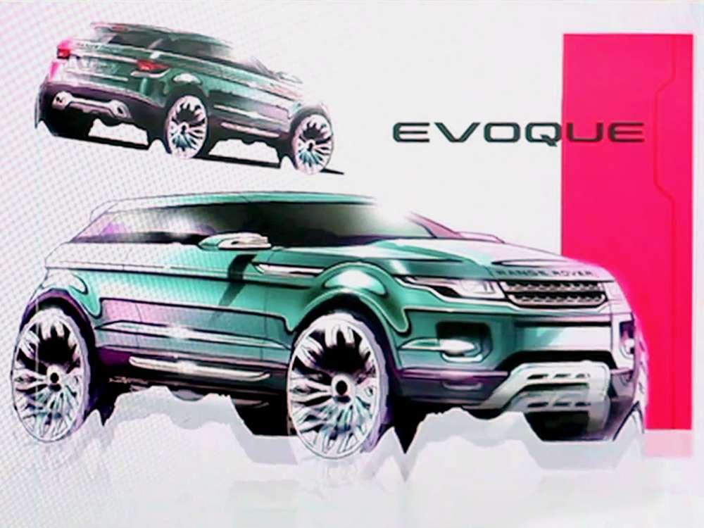 Range Rover Evoque: η γέννηση ενός iconic σχεδίου