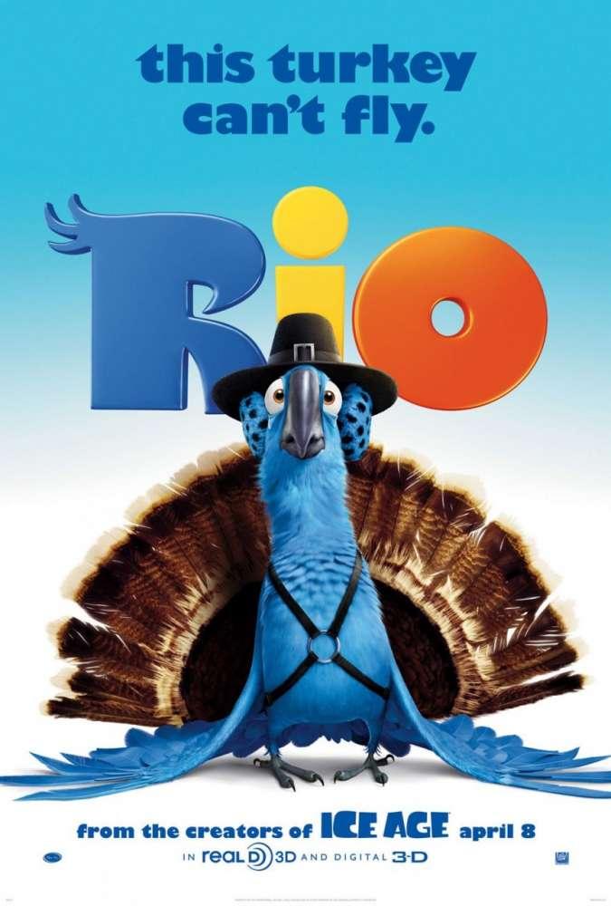 Rio: μια απίθανη, fun δουλειά animation για 100% διασκέδαση!