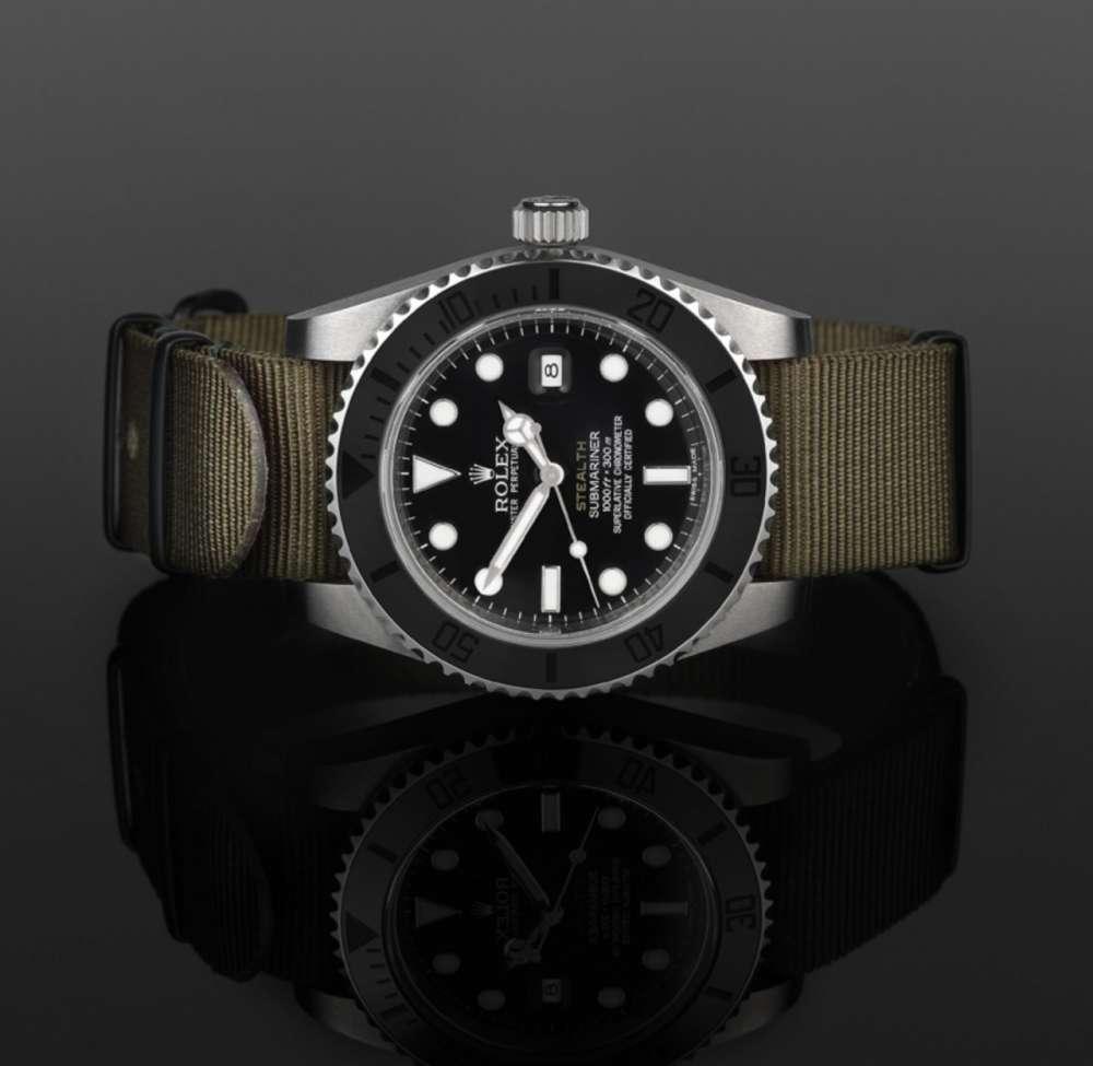 Luxury ρολόι χειρός με mil spec πινελιά: Rolex Projext X Stealth…