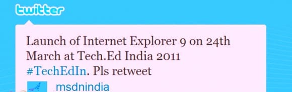 Internet Explorer 9: μέχρι τα τέλη του μήνα στην αγορά. Το πιθανότερο…