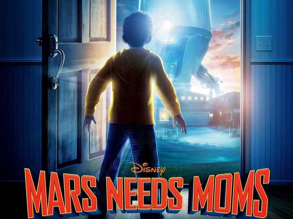 """Ένα animation αλά Disney: """"Mars Needs Moms""""…"""