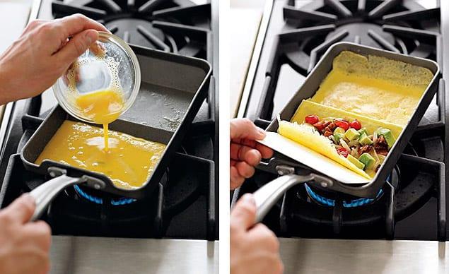 Nordic Ware Rolled Omelette: ένα clever τηγάνι για designατες ομελέττες!