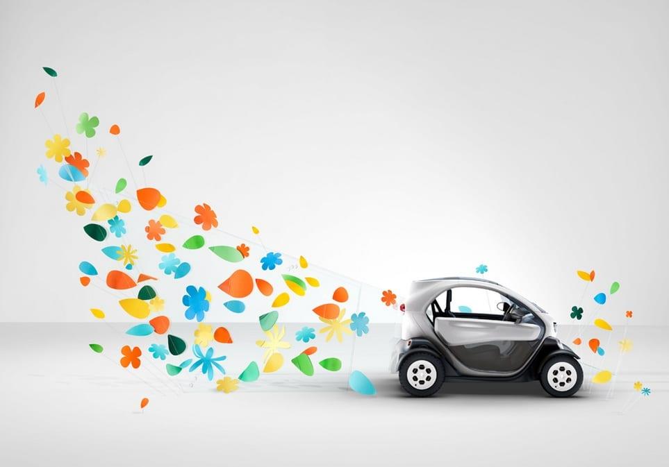 Η καμπάνια του Renault Twizy…