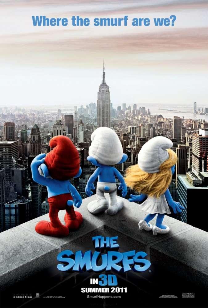 The Smurfs: το πρώτο trailer..!