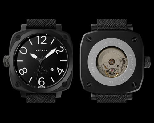 Tsovet SVT-AT76 Black Automatic: ένα όμορφο 'κόσμημα' για τον καρπό…