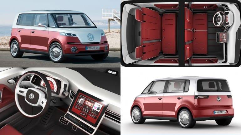 Σαλόνι Αυτοκινήτου της Γενεύης 2011: Volkswagen Bulli concept – ξυπνά μνήμες…
