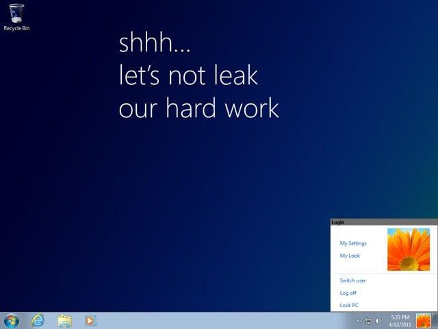 Μια online διαρροή των Windows 8;