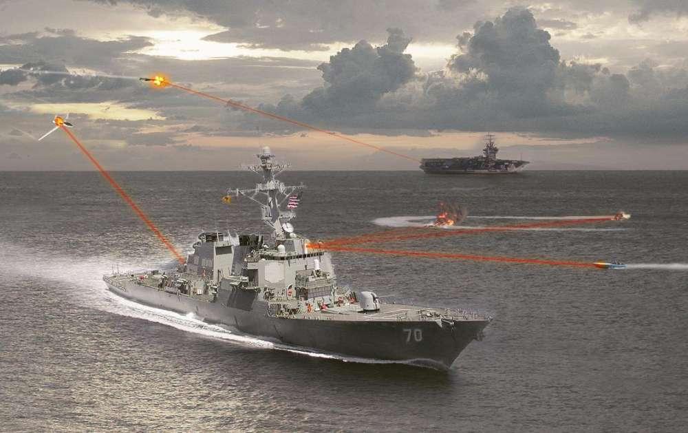 Ακτίνες Θανάτου: ένα πλοίο δέχεται 'επίθεση' με ακτίνες λέιζερ – και παίρνει φωτιά…