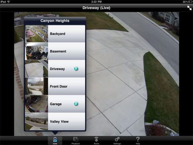 Logitech Alert App για το iPad: βλέπεις iP κάμερες από παντού…