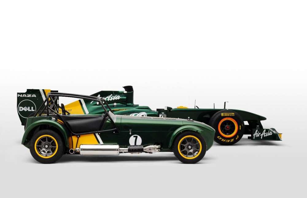 Επισήμως: η Lotus θα είναι η ιδιοκτήτρια της Caterham, θα γιορτάσει με μια ειδική έκδοση της Seven…