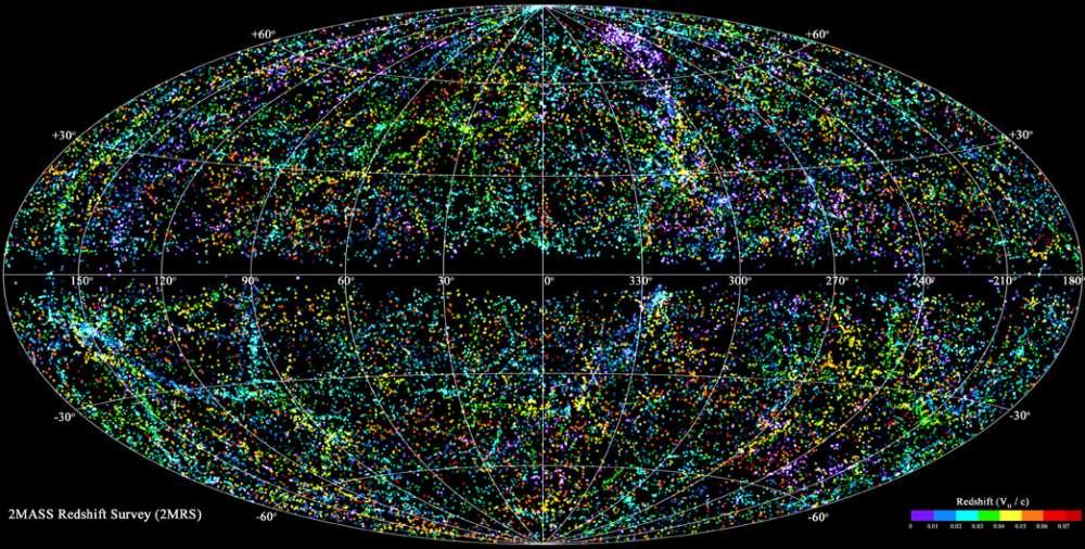 Ο πιο πλήρης 3D χάρτης του σύμπαντος που έχει δημιουργηθεί ποτέ…