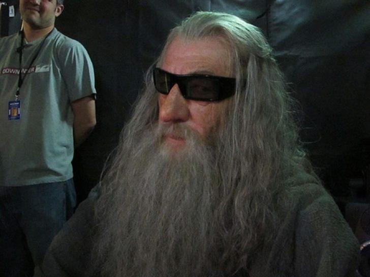 """Ο…  Gandalf φανερώνει τεχνικά χαρακτηριστικά του """"Hobbit"""" σε 3D…"""