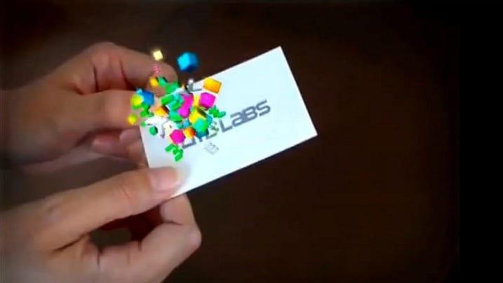 """7 εκπληκτικές business κάρτες """"επαυξημένης πραγματικότητας""""!"""