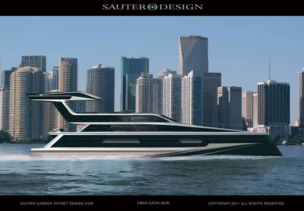 Emax Excalibur – το yacht με τον φωτοβολταϊκό 'μανδύα'…