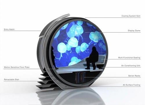 Ένα 'κουκούλι΄για 3D εμπειρία…