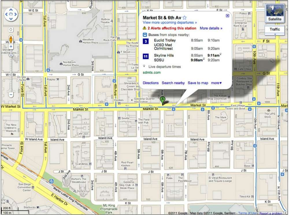 Google Maps – τώρα με live αναβαθμίσεις transit…