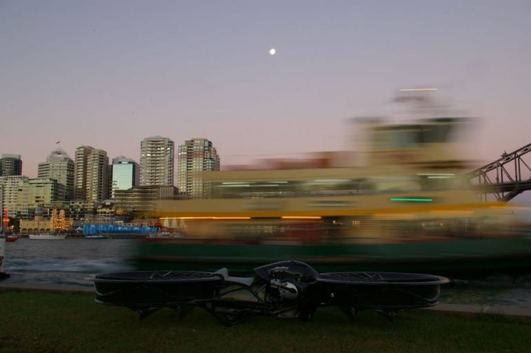 Hoverbike – ένας τρελός Αυστραλός το έκανε…