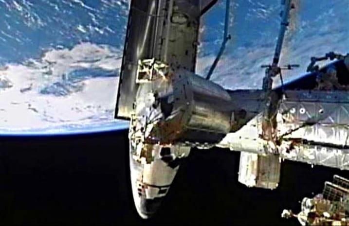 Διαστημικό λεωφορείο Atlantis – άφησε για τελευταία φορά τον Διεθνή Διαστημικό Σταθμό…