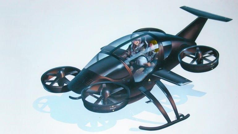 Solotrek: το μέλλον στα αεροταξί…
