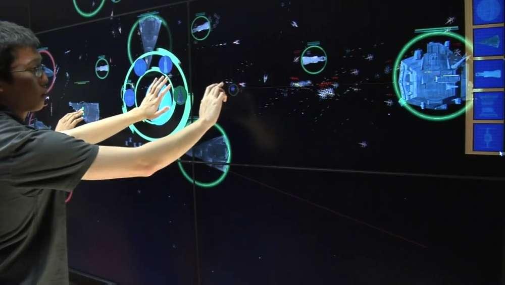 Χορταστικό: ένα RTS παιχνίδι σε έναν multi-touch LCD τοίχο 7 μέτρων…