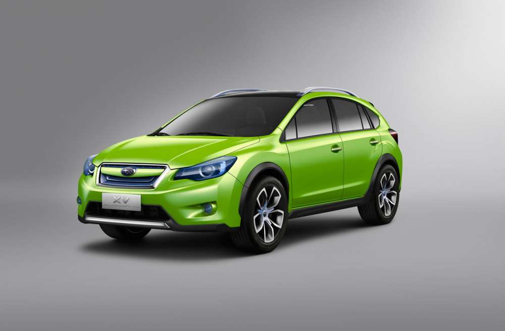 Subaru XV – σχεδιαστική πρόγευση…