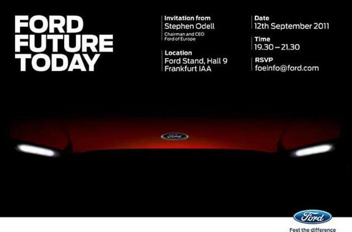 Ford – ΄ένα teasαρισμα για νέο concept μοντέλο στη Φρανκφούρτη…