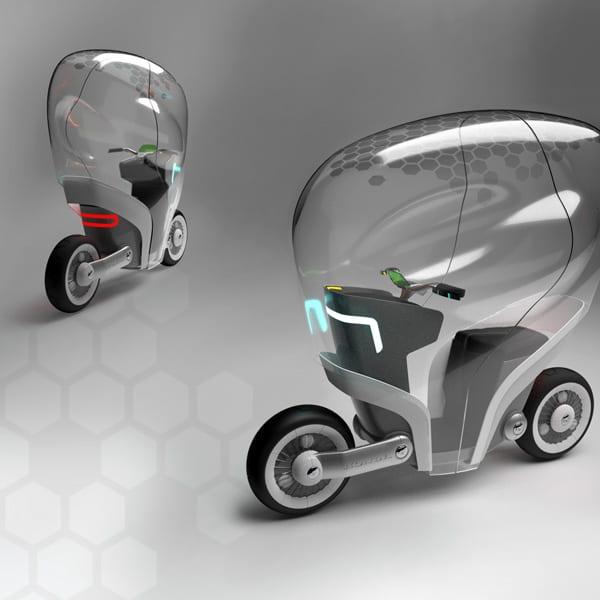 Shell Honda Bike – μετακίνηση και futuristic εικόνα…